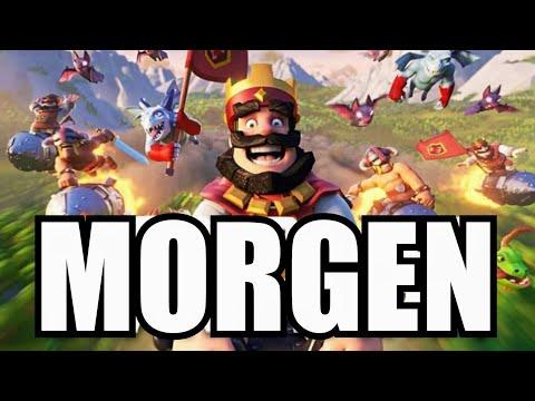 UPDATE ERST MORGEN!   Clan Wars letzte Chance für das Spiel?!   Clash Royale deutsch