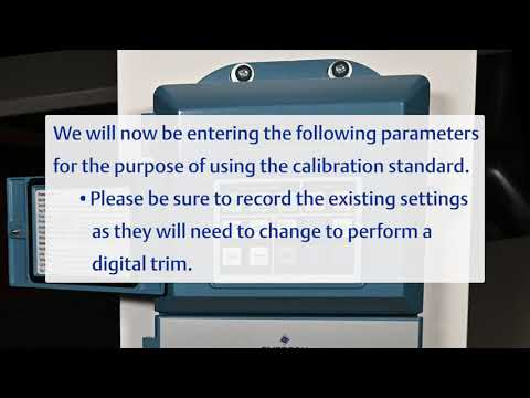 How To Use The Rosemount 8785 Calibration Standard