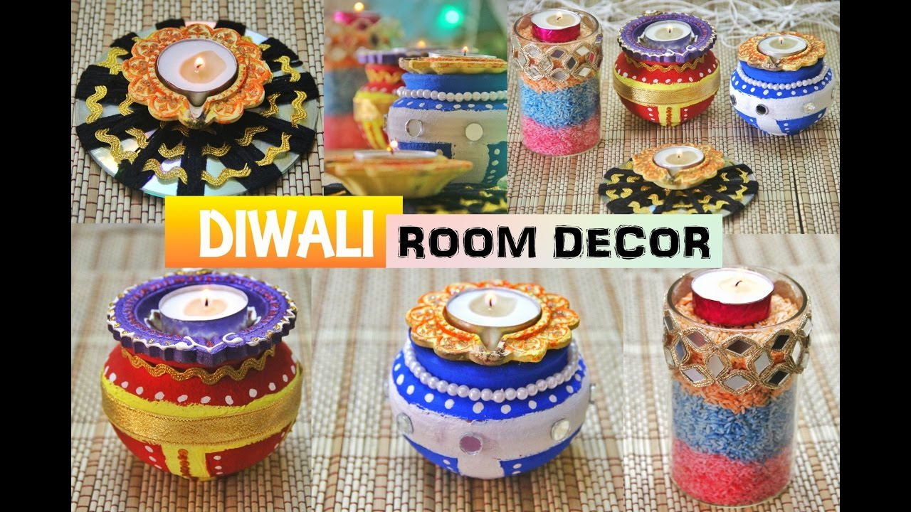4 NEW DIY DIWALI DECORATION IDEAS CHRISTMAS DECOR YouTube