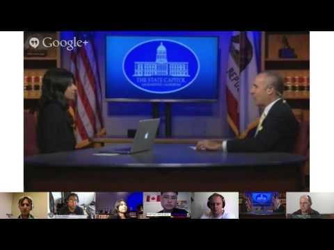 Convo w/ Senate President Pro Tem Darrell Steinberg & FOX40's Zohreen re: mental health services in