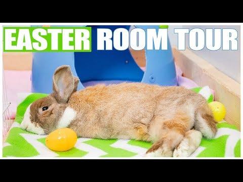 Easter Rabbit Room Tour 🐣