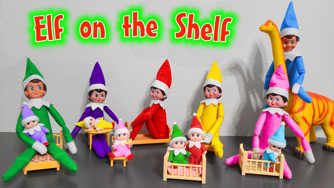 Download Elf on the Shelf 2020!!! All Colors Elf on the Shelf and Elf Babies!
