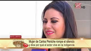 Mujer de Carlos Peniche rompe el silencio y dice por qué el actor vive en la indigencia
