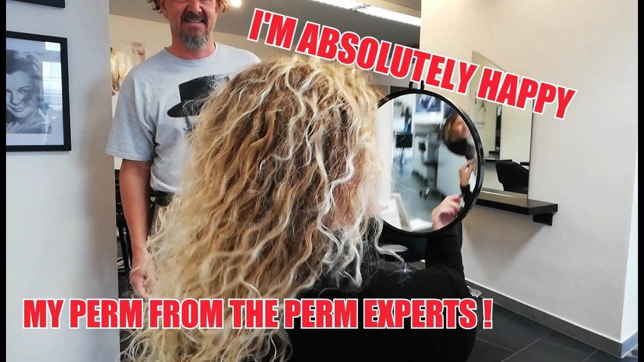 Dauerwelle fur blondierte haare