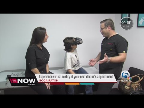 Experience virtual reality at your next doctor's appointment