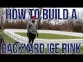HOW TO BUILD A BACKYARD ICE RINK - NICERINK