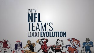 NFL Logos Through The Years