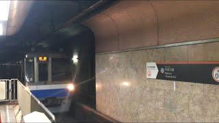 【くうこうせん】福岡市地下鉄空港線1000N系@天神駅