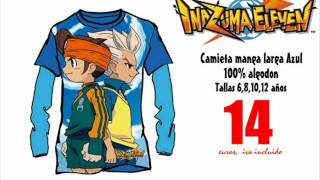 Inazuma Eleven Camiseta manga larga  , Pktienda.es