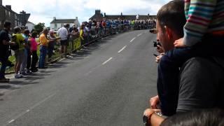 Tour de France at Reeth
