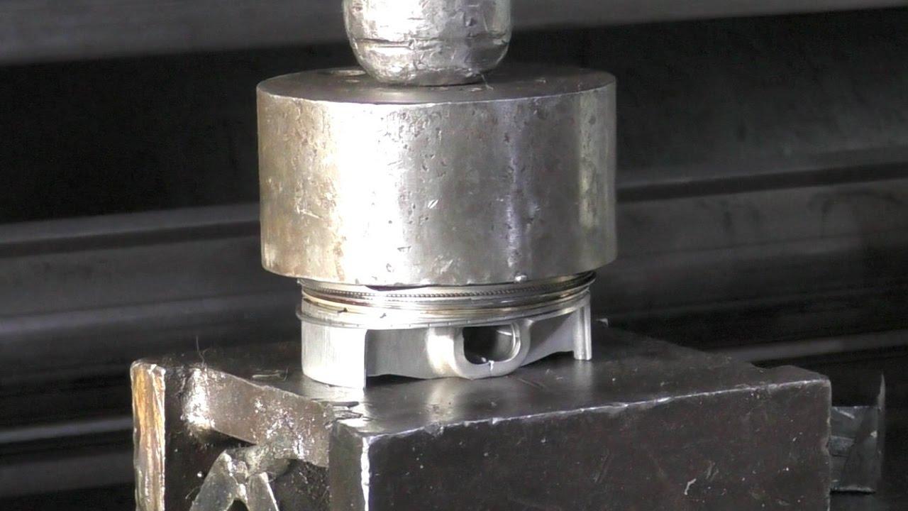 Pressing Dirt Bike Piston - 2 Stroke vs 4 Stroke