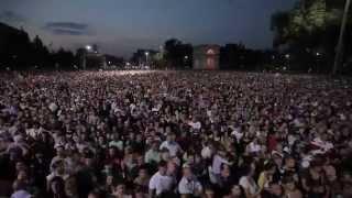 Ренато Усатый,  София Ротару, Кишинев, 100 тыс зрителей