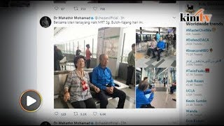 Video Dr M and wife take a trip on the MRT download MP3, 3GP, MP4, WEBM, AVI, FLV Januari 2018