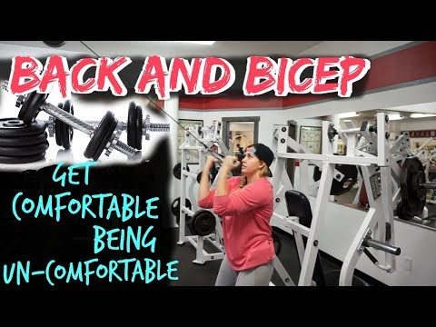 BACK AND BICEPS   WEIGHT LOSS SERIES