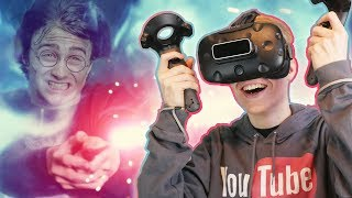 VR HARRY POTTER PUZZLE GAME! | Forgotten Chambers (HTC Vive Gameplay) Ep 1