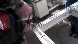 Установка фурнитуры для металлопластиковых окон.Часть 2