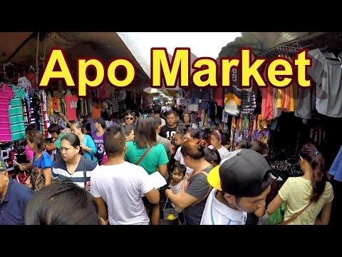 Angeles City Philippines 2016 : Apo Market