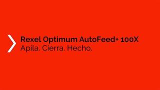 Vídeo: Destructora automática Optimum AutoFeed 100X