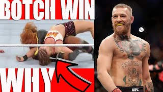 WWE WrestleMania 35 Main Event BOTCH WIN!? Connor McGregor WWE Debut 2019?