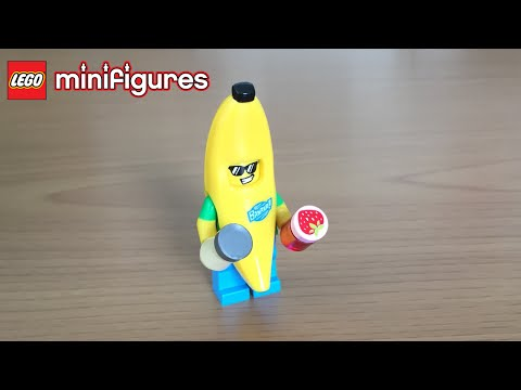 Lego Minifigure Opening - Banana Man - Peanut Butter Jelly TIme