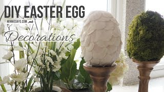 DIY Easter Egg Decorations | Upcycle