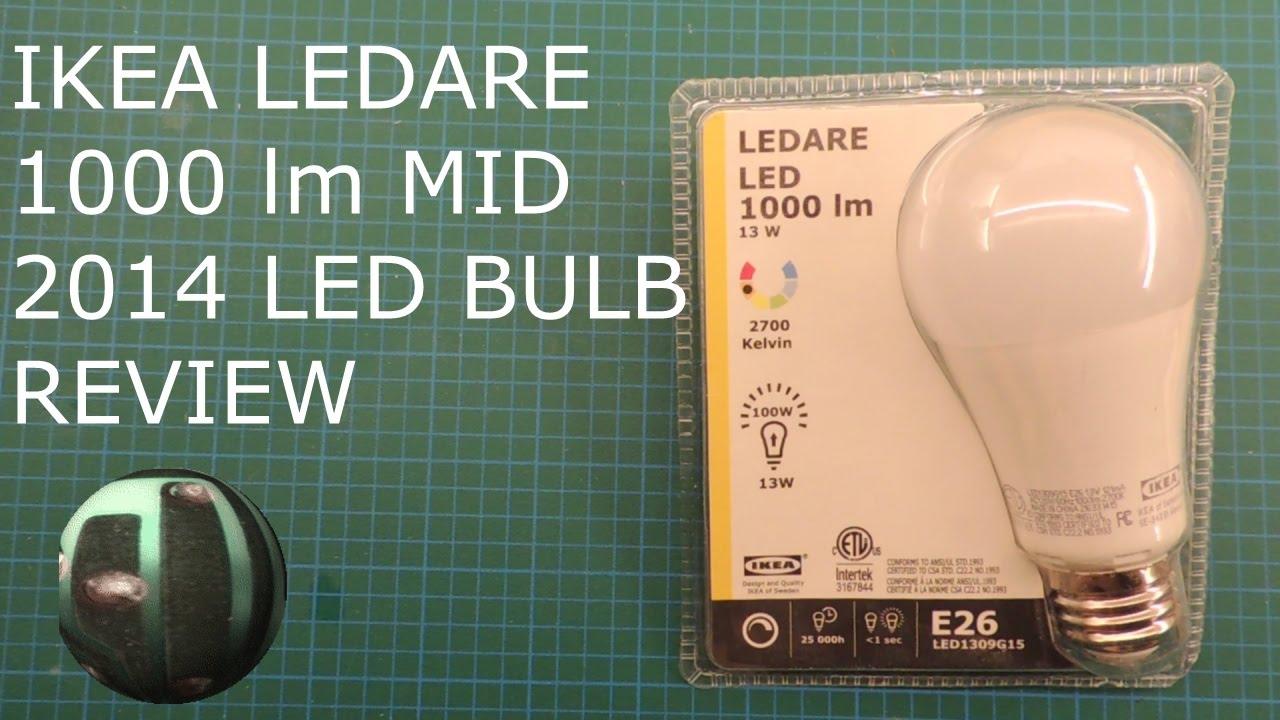 Ikea Ledare 2014 1000lm Led Bulb Teardown And Review Youtube