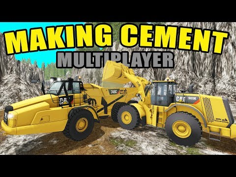 STONE MINING- MAKING ASPHALT & CEMENT + SELLING TAILINGS | FARMING SIMULATOR 2017 MINING