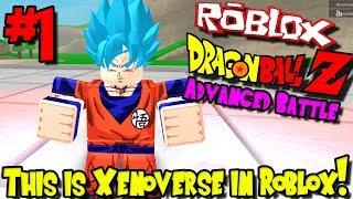 DIES IST XENOVERSE IN ROBLOX! | Roblox: Dragon Ball Advanced Battle - Episode 1