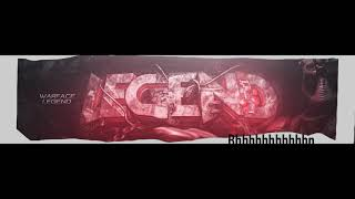 Modern Red Warface Banner №3 (C4D/Photoshop)