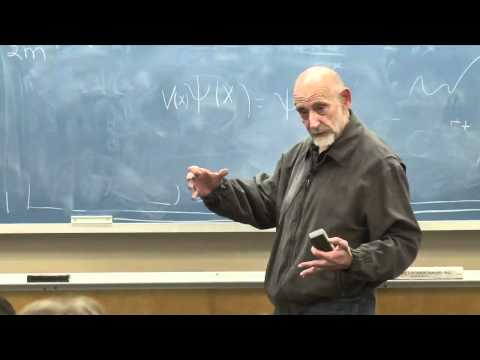 Lecture Video 10 Of The Theoretical Minimum Quantum Mechanics By