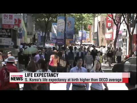 Gender gap in life expectancy in Korea higher than other OECD countries   한국 여성-