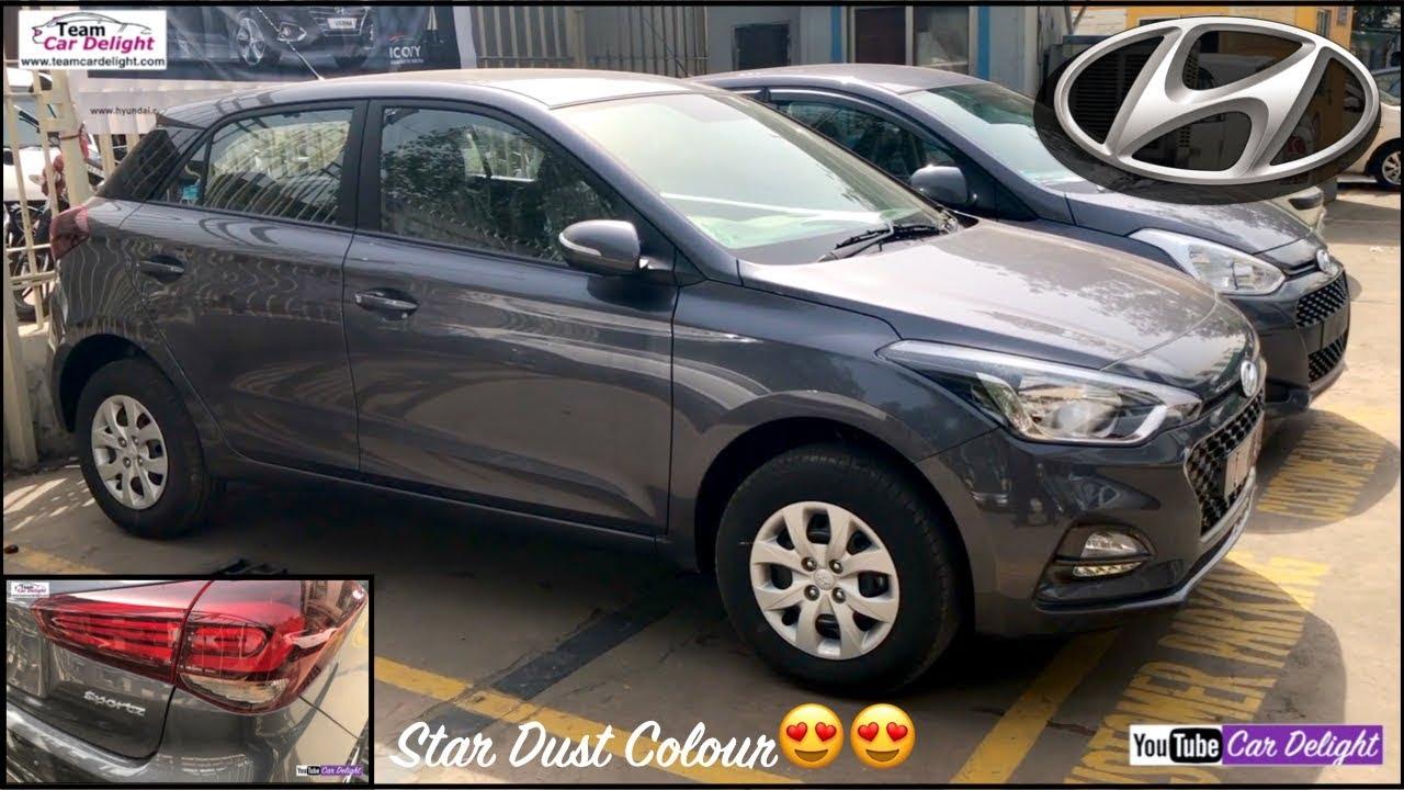 Elite i20 2018 Facelift Start Dust Colour Sportz Model Interior and  Exterior Walkaround,Review