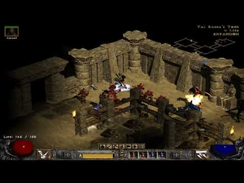 Diablo II  Lord of Destruction in search of  tal rashas tomb part 3