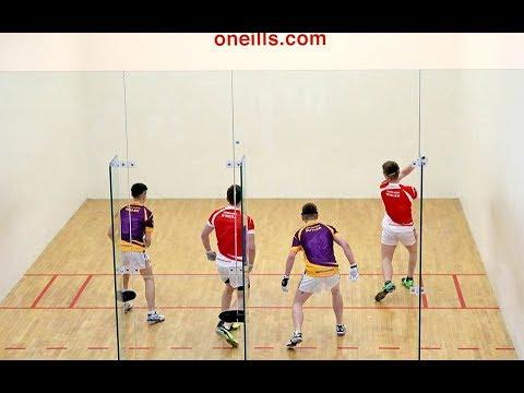 2017: O'Neill/Walsh v Walsh/Butler - All-Ireland Minor 40x20 Doubles Final