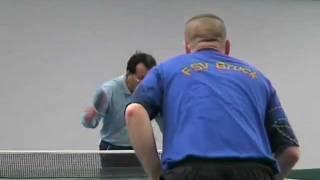 SGS Erlangen 2 Tischtennis  - Bruck 1 T.Quick Nierling Hoang Dr. Dr. Yu Rupprecht
