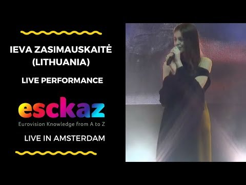 ESCKAZ in Amsterdam: Ieva Zasimauskaitė (Lithuania) - When We're Old