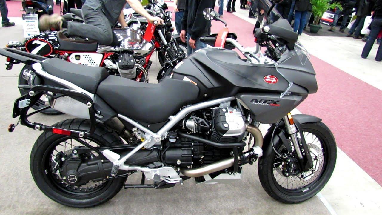 2013 moto guzzi ntx 1200 stelvio abs - walkaround - 2013 quebec