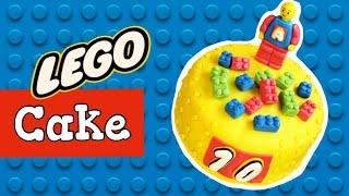 "Торт ""Детский конструктор"" / Kids construction set cake with marshmallow fondant ♡ English subtitles"