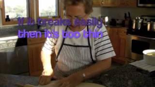 How To Make Babi's Ukranian Pierogies (perogies)
