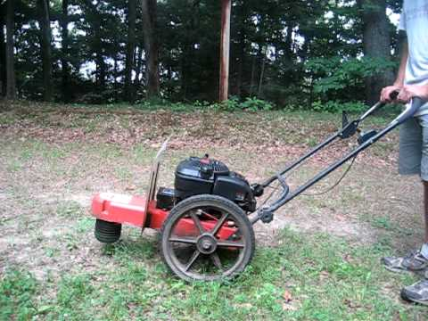 Dr Trimmer Mower Electric Start 6 5hp Ohv Youtube