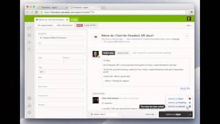 Managing Zendesk Support with Flowdock