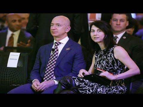 Amazon's Jeff Bezos and wife Mackenzie announce divorce