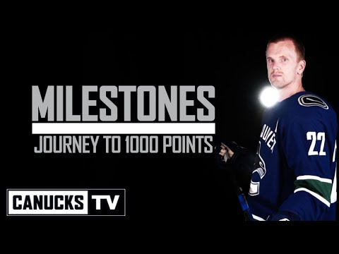Daniel Sedin | Journey to 1000 NHL Points