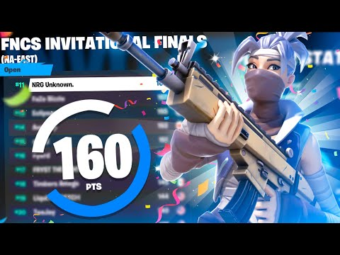 I won $1500 in Solo FNCS Invitational FINALS 🏆 (11th Place)