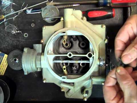 Rochester 4GC Carburetor Rebuild Part 4 of 4