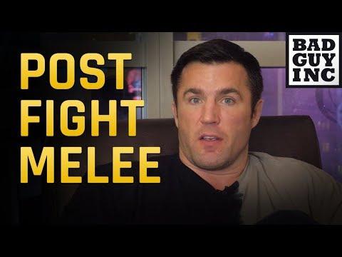 Chael Sonnen breaks down Khabib Nurmagomedov/Conor McGregor post fight melee...
