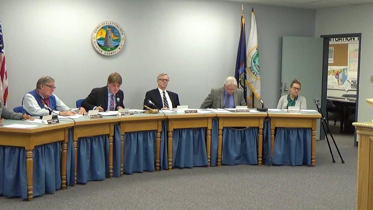 Town of Plattsburgh Meeting  9-7-17