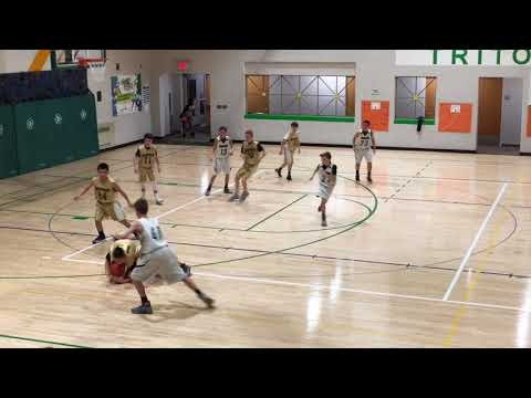Triton's 6th Grade Boys vs Shelbyville School Basketball A Game