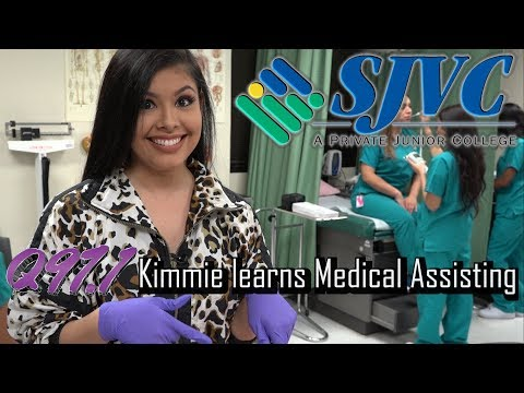Q97.1 Kimmie Learns Medical Assisting At SJVC