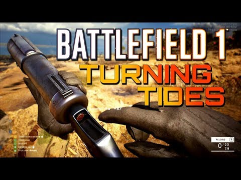 Battlefield 1: NEW Turning Tides and Infiltrator Class Gameplay! (1440p 60fps)